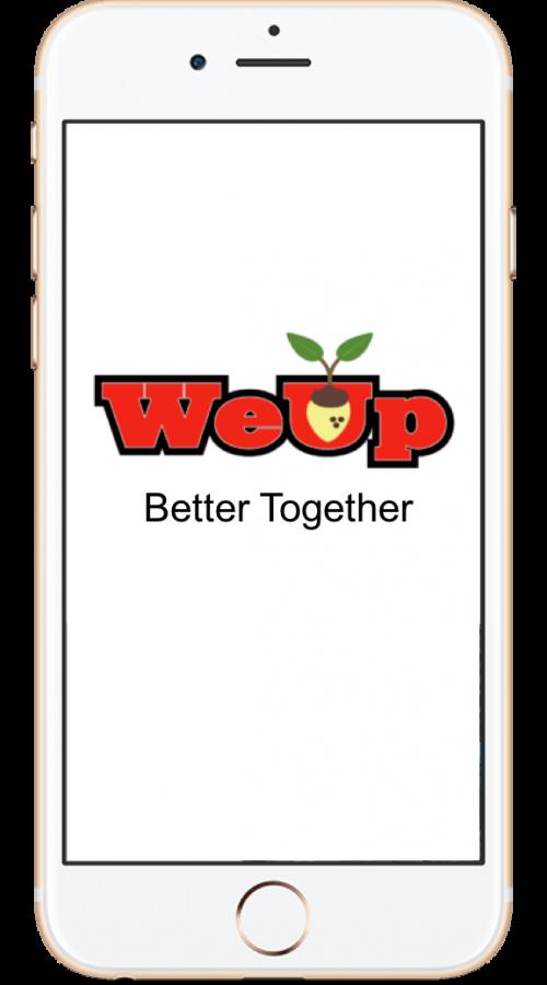 WeUp App Pic